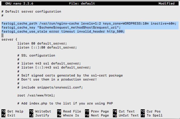 fastcgi_cache-settings