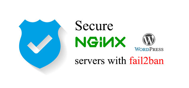 secure nginx wordpress servers with fail2ban