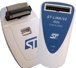 ST-Link V2 from STMicroelectronics