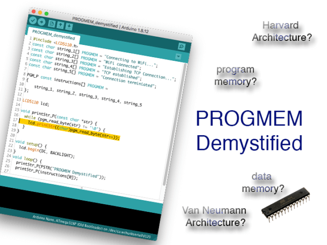 PROGMEM demystified
