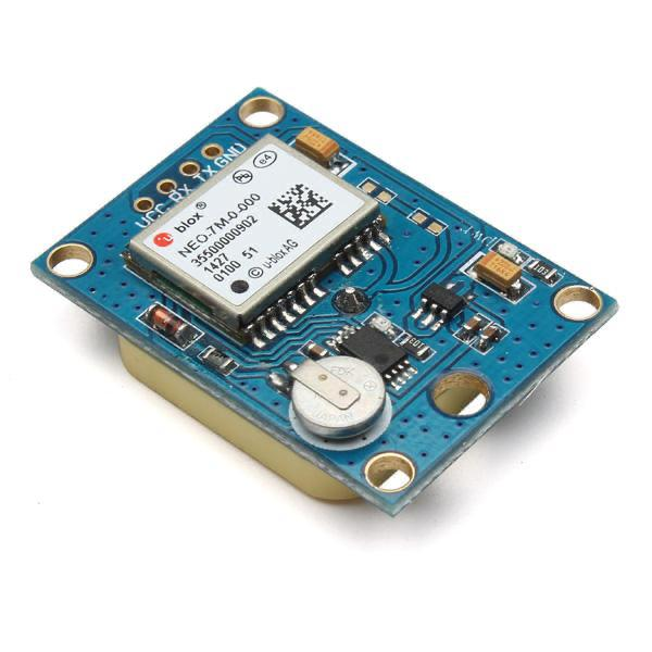 NEO-7M module with GPS-backup battery and EEPROM
